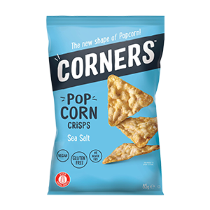 חטיף תירס מלוח ללא גלוטן 80 גרם – Corners