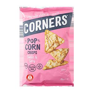 חטיף תירס מתוק מלוח ללא גלוטן 80 גרם – Corners