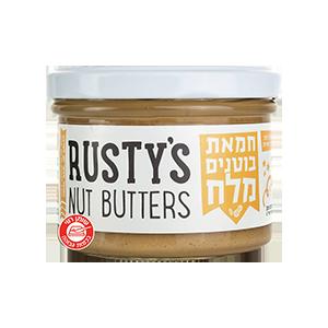 ממרח חמאת בוטנים עם מלח 200 גרם – Rusty's